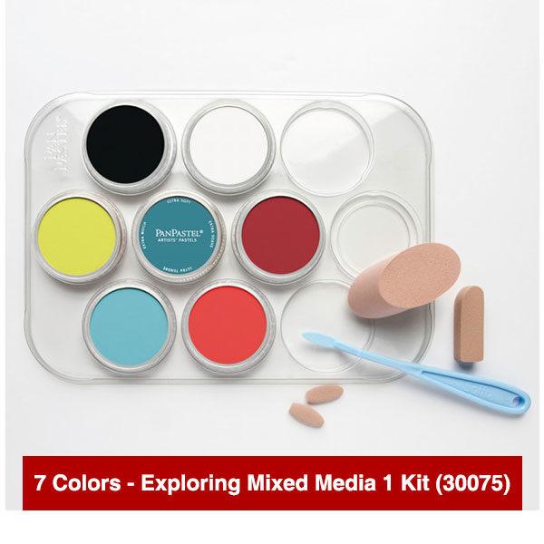 Panpastel-7-Colors-Exploring-Mixed-Media-1-Kit-(30075)