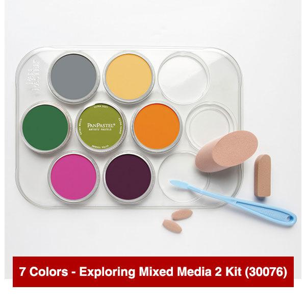 Panpastel-7-Colors-Exploring-Mixed-Media-2-Kit-(30076)