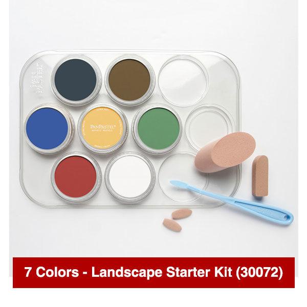 Panpastel-7-Colors-Landscape-Starter-Kit-(30072)