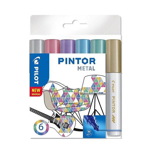 Pilot-Pintor-Metal-6-set-Medium-Tip