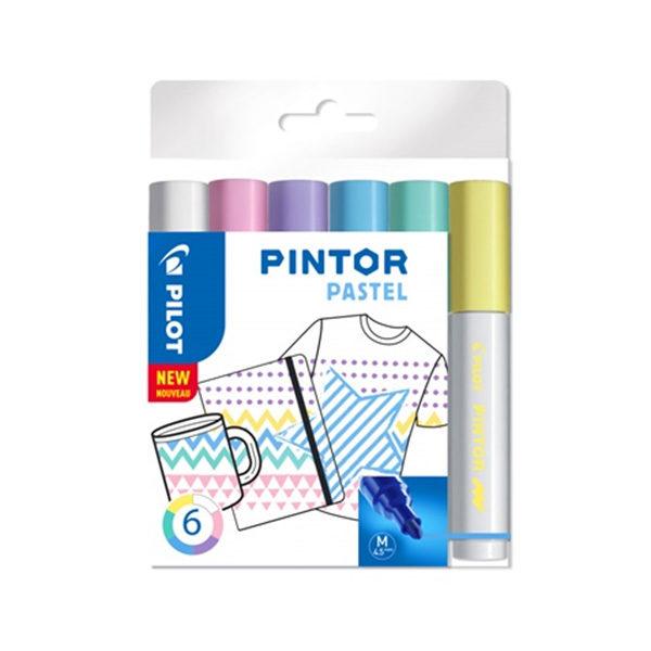 Pilot-Pintor-Pastel-6-set-Medium-Tip