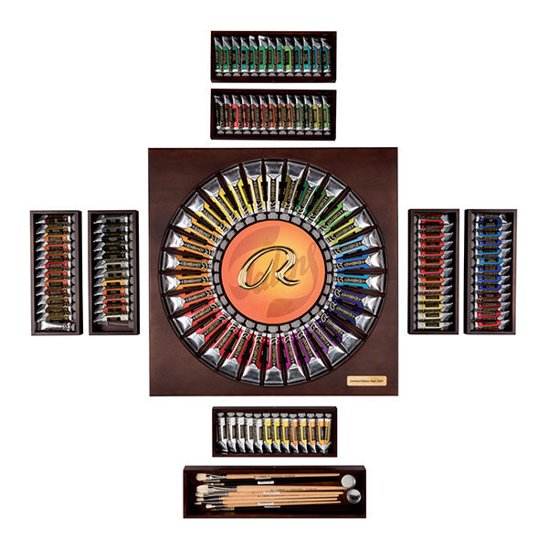 Rembrandt-120-Year-Limited-Edition-Box-Oil-Paints-and-Brushes