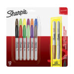 Sharpie-Permanent-Marker-Fine-Point-12-Set-plus-2-Metallic