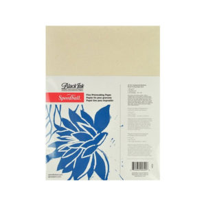 Speedball-Unbleached-Mulberry-Block-Printing-Paper-9x12-inch-Pack