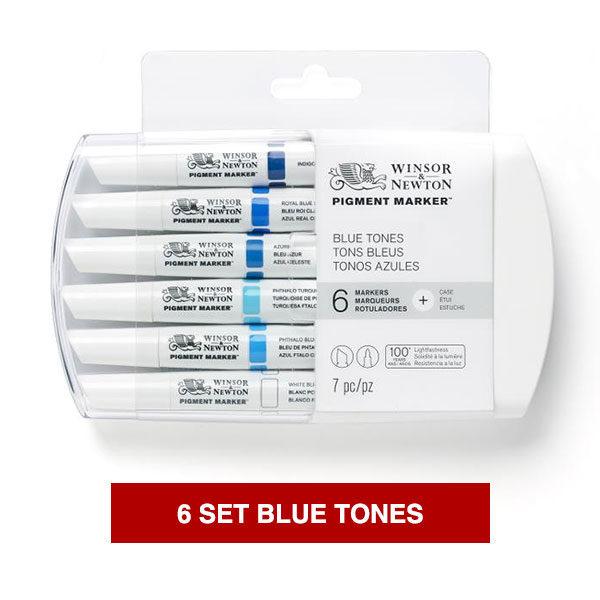 Winsor-&-Newton-Pigment-Marker-Blue-Tones-Set