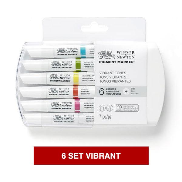 Winsor-&-Newton-Pigment-Marker-Vibrant-Set