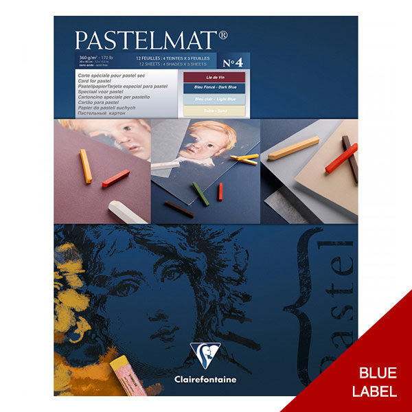 Clairefontaine-Pastelmat-Glued-Pad-Blue-Label