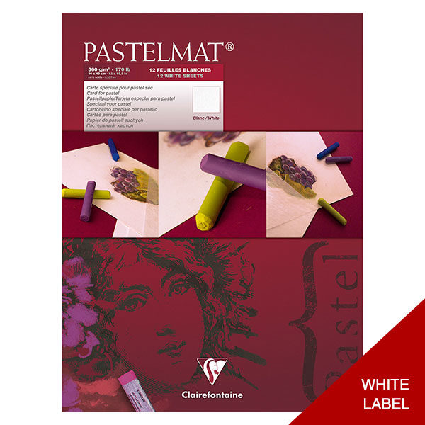 Clairefontaine-Pastelmat-Glued-Pad-White-Label