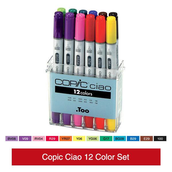 Copic-Ciao-12-Color-Set