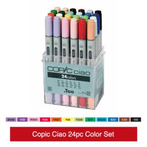 Copic-Ciao-24pc-Color-Set