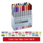 Copic-Ciao-36pc-Color-Set-B