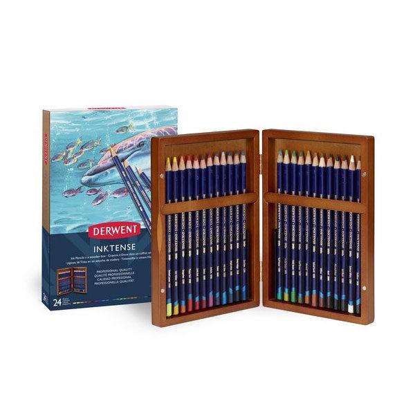 Derwent-Inktense-Wooden-Box-24-Set-opened-up