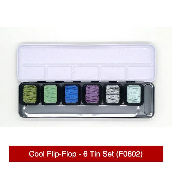 Finetec-Cool-Flip-Flop-6-Tin-Set-Colours