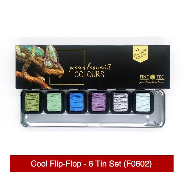 Finetec-Cool-Flip-Flop-6-Tin-Set-Front-&-Colours