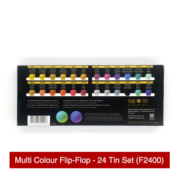 Finetec-Multi-Colour-Flip-Flop-24-Tin-Set-Back