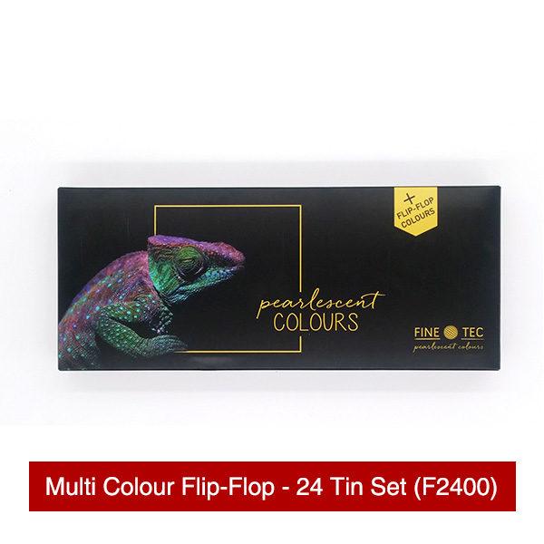 Finetec-Multi-Colour-Flip-Flop-24-Tin-Set-Front