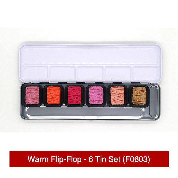 Finetec-Warm-Flip-Flop-6-Tin-Set-Colours