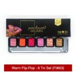 Finetec-Warm-Flip-Flop-6-Tin-Set-Front-&-Colours