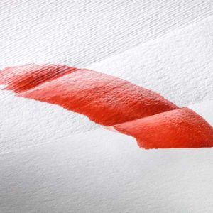 Hahnemuhle-Sumi-e-Paper-Sheet-with-red-paint-on