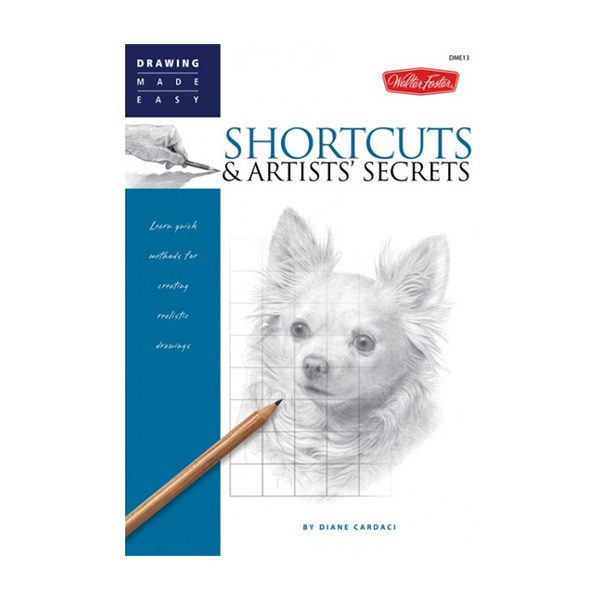 Walter-Foster-Drawing-made-easy-shortcuts-&-artists-secrets-book-cover