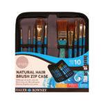 Daler-Rowney-Simply-Watercolour-Natural-Hair-Brush-Zip-Case
