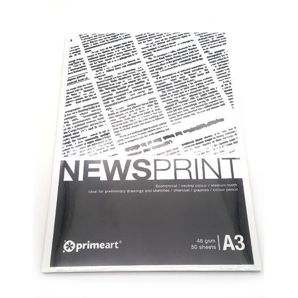 Prime-Art-Newsprint-A3-Pad-Neutral-Toned
