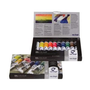 Royal-Talens-Van-Gogh-Oil-Colour-Basic-Box-10-Set
