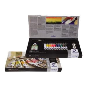 Royal-Talens-Van-Gogh-Oil-Colour-Combiset-10-Box