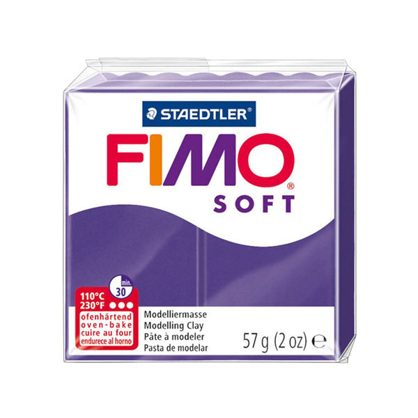 Fimo-Soft-Modelling-Clay-57g-Plum