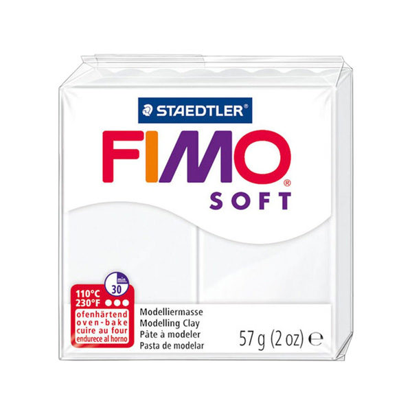Fimo-Soft-Modelling-Clay-57g-White
