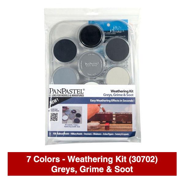Panpastel-7-Colors-Weathering-Kit-(30702)-Greys-Grime-&-Soot