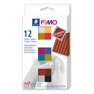 Staedtler-FIMO-Leather-Effect-Colour-Pack-of-12