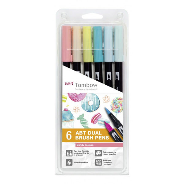 Tombow-ABT-Dual-Brush-Pen-Candy-Colours-6pc-Set