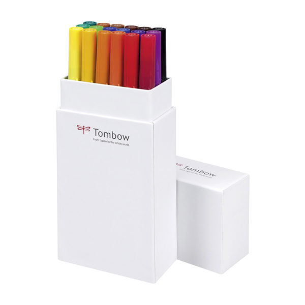 Tombow-ABT-Dual-Brush-Pen-Primary-Colours-18pc-Set-Packaging-open