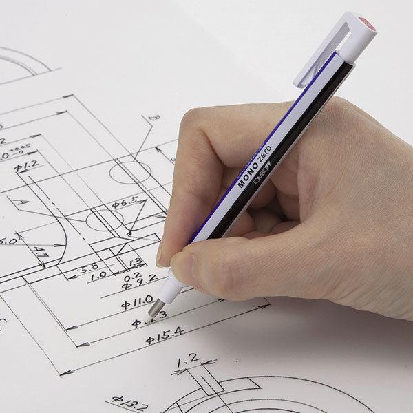 Tombow-Mono-Zero-Precision-Eraser-working-on-sketches-02