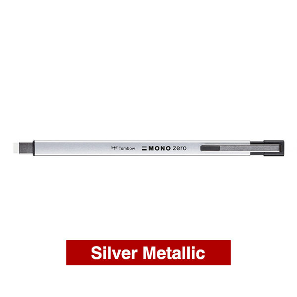 Tombow-Precision-Mono-Zero-Metal-Eraser-in-Silver-Metallic-Colour