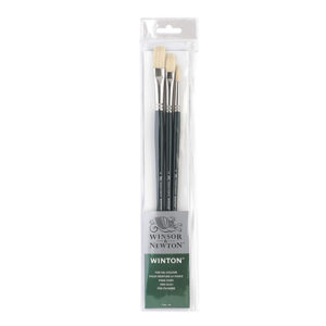 Winsor-&-Newton-Winton-Long-Handle-Oil-Colour-Brush-Set