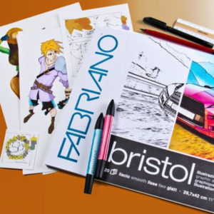 Fabriano-Smooth-Bristol-Sheets-250gsm