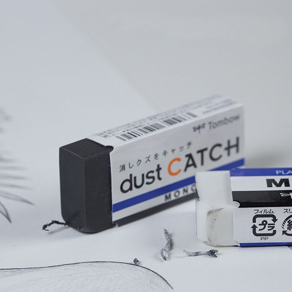 Tombow-Mono-Dust-Catch-Eraser-close-up-with-a-sketch
