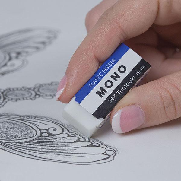 Tombow-Mono-Eraser-close-up-erasing-pencil