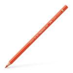 Polychromos colour pencil, dark cadmium orange