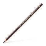 Polychromos colour pencil, burnt umber