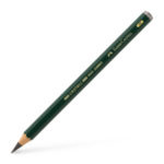 Castell 9000 Jumbo graphite pencil, 4B