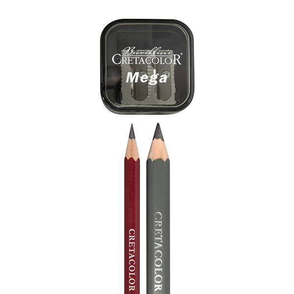 Cretacolor-Mega-Duo-Sharpener-with-pencils