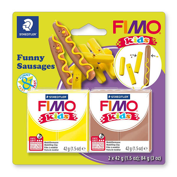 FIMO-kids-funny-kit-8035-Funny-Sausages