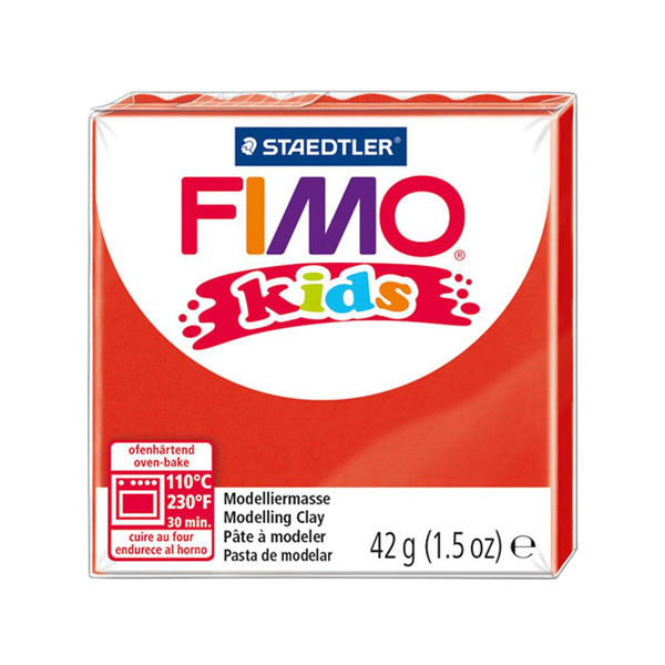 Staedtler-FIMO-Kids-Modelling-Clay-Red-2