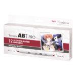 Tombow-ABT-PRO-Alcohol-based-Markers-Manga-Set-Shonen-12-Set