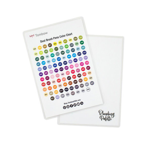 Tombow-Blending-Kit-colour-chart