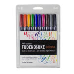 Tombow-Fudenosuke-Brush-Pen-Colour-Set-10-Pack