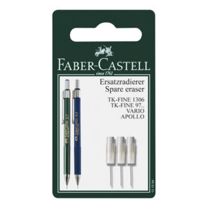 Faber-Castell-TK-Fine-Spare-Erasers-for-Mechanical-Pencil-Set-of-3